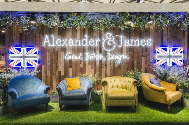 Alexander and James - you can't just call them sofas.
