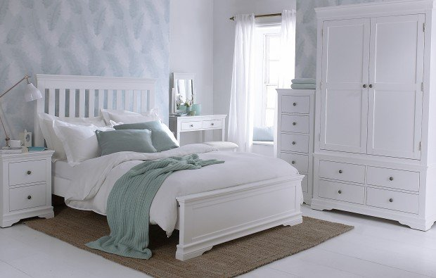 Fine furniture makes for beautiful bedrooms.