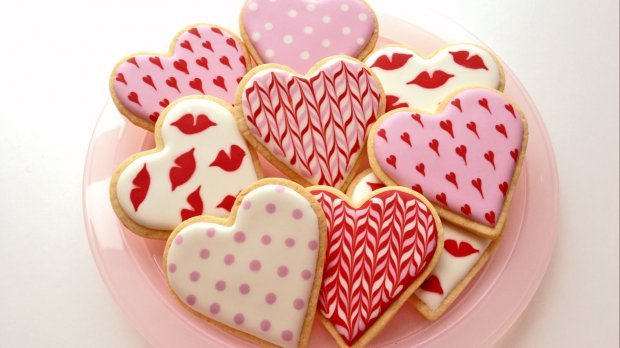 RECIPE FOR VALENTINE'S LEMON BISCUITS
