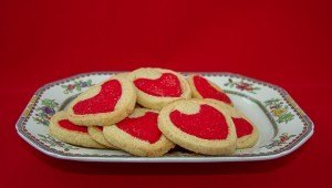 VALENTINE'S DAY RECIPE FOR HEART BISCUITS