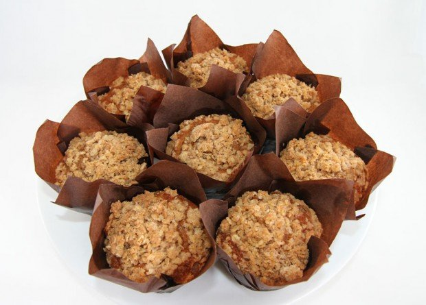 Recipe for Spiced Pumpkin Streusel Muffins