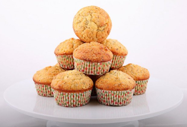 Recipe for Lemon and Poppy Seed Muffins