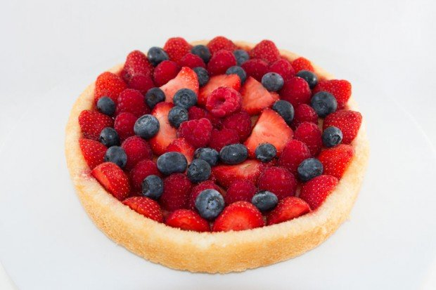 Recipe for Summer Berry Flan