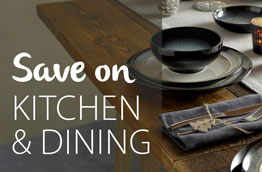 Save on kitchen and dining