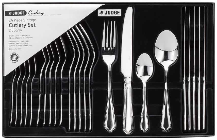 Judge Dubarry 44 Piece Cutlery